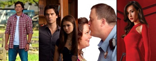Smallville, The Vampire Daries, Mike & Molly e Nikita