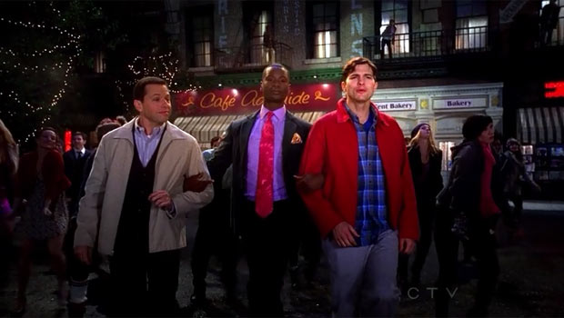 Two and a Half Men - Grab a Feather and Get in Line
