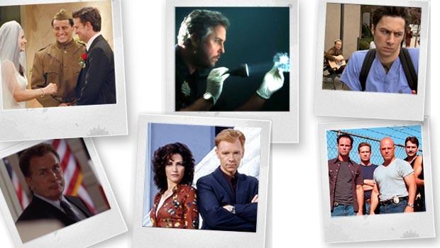 Friends, CSI, Scrubs, The West Wing, CSI:Miami, The Shield